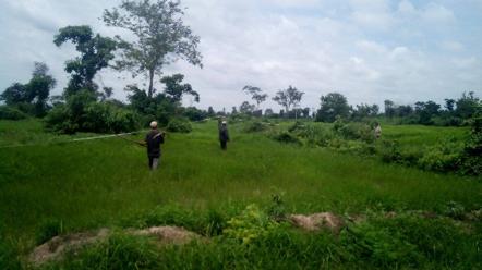 YASODAPURA ECO VILLAGE – GETTING NEW RICE FIELD