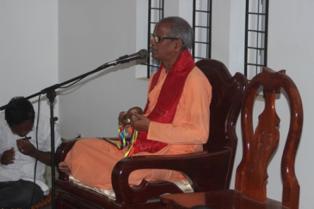 HH Bhakti Purusottama Swami's visit in Cambodia