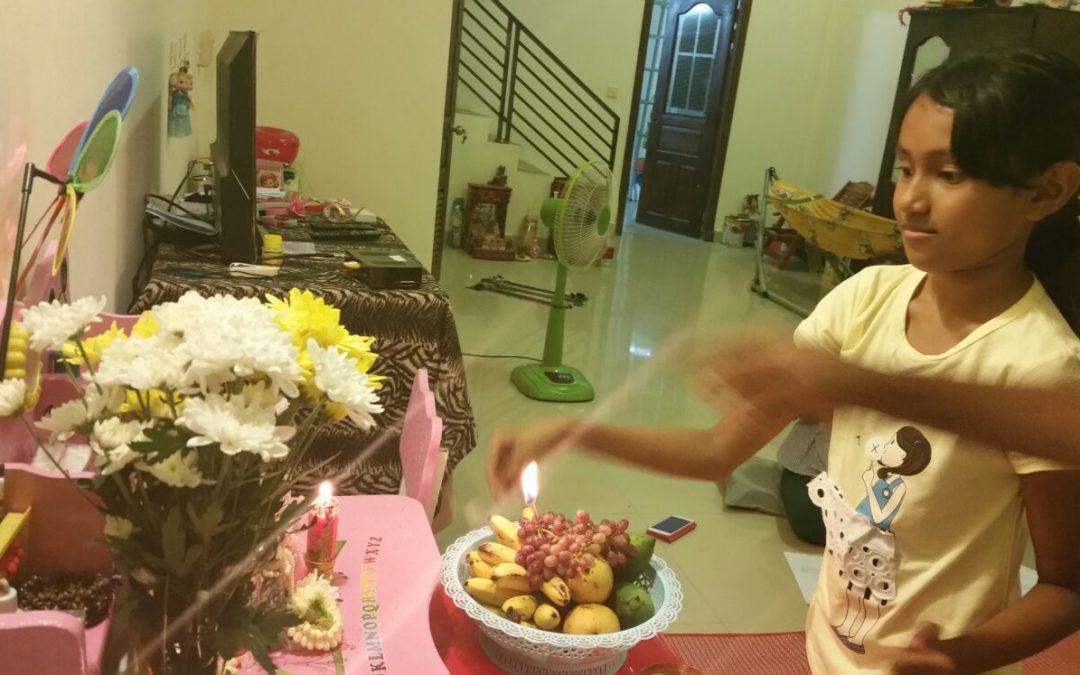 House Program: Damodara Puja 16th Oct 2017 in Photos