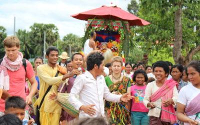 First Jaganath Ratha Yatra in Cambodia